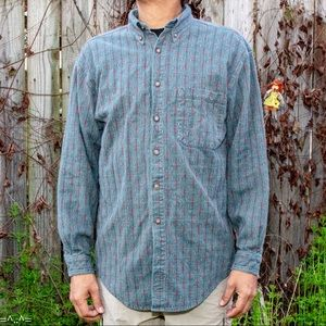 Vintage Men's Button Up by The Territory Ahead